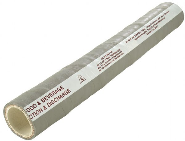 Length 5ft 1.5 Novaflex 6300 Sanitary Suction and Discharge Hose