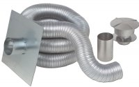 Z Flex 174 Chimney Liner Kits Gas Aluminum Novaflex