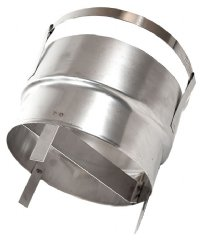 Stainless Steel Insert Connector Z Flex 174 Chimney Liner