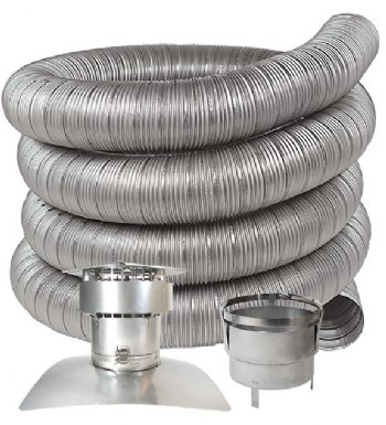 Stainless Steel Chimney Liner Kits For Oil Gas Amp Pellet