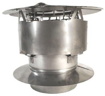 Stainless Steel Deluxe Rain Cap