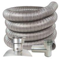 Z Flex 174 Chimney Liner Kits All Fuels Novaflex